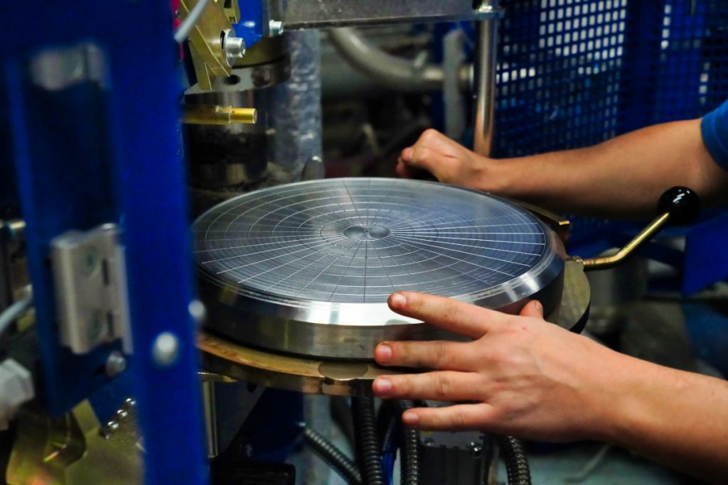 HD Vinyl record first test pressing
